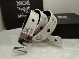 Hebillas de vaquero online-2019 hombres de la marca de cinturón de cuero genuino mc hebilla Usa West Cowboy Cow Head Man Cinturones de Lujo Nueva Moda Grandes Hombres Regalo
