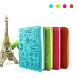 Wholesale school notebook a5 - Cute leather Diary Notebook paper 120 sheets personal diary Notebook Notepad a5 a6 Creative Office School Supplies Wholesale