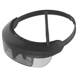 Lunettes virtuelles de théâtre privé en Ligne-Lunettes FPV sans fil 3D Lunettes vidéo Vision-730S avec 5.8G 40CH 98 pouces affichage privé théâtre virtuel pour FPV Quadcopter