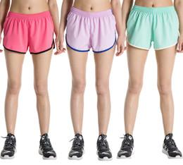 femininas, atlético, shorts Desconto Wholsale womens clothing cores doces verão surf shorts praia board shorts feminino athletic calções de banho elástico