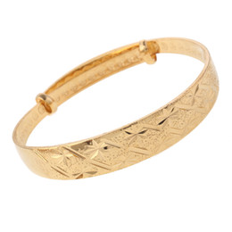 Сверкающие звезды онлайн-24k Золотой краткое сверкающих Звезда золотой цвет регулируемые браслеты браслет ювелирные изделия