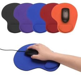 Tappetino per mouse Optical Trackball PC Addensato Supporto per pad mouse Comfort pad per mouse Tappetino per mouse Mouse colorato da ce guarda fornitori