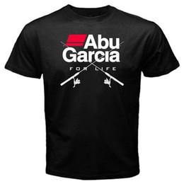 Garcia shorts online-T-shirt Shop Crew Neck Männer Neuheit Kurze Abu Garcia Dufresne Und Redding Fishser Galveston Panama T-shirt T-stücke