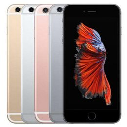 Wholesale video camera apple - Refurbished Original Apple iPhone 6S Plus 16 64 128GB ROM 5.5 inch iOS Dual Core 2GB RAM 4G LTE 12MP 4K Video Unlocked Mobile Phone DHL 1pcs