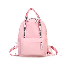 95d5c80d170b LUKATU Fashion Backpack Women School Bags For Teenage Girls Student Nylon Travel  Bags With Letter Strap Backpacks Casual