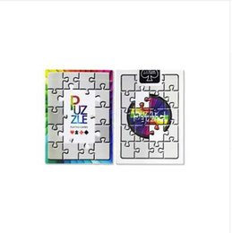 playing cards puzzle UK - 1 Deck Puzzle Playing Cards Poker Size Collection Magic Deck Magic Tricks