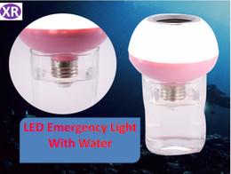 Musik-wasserlampen online-Neue intelligente Notfall-Bluetooth-Musik-Birne mit LED-Notlicht RGB Bluetooth-Fernsteuerungslampen E27 NO7 DHL des Wasser-7W im Freien