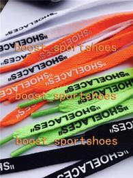 Canada Lacets Personnaliser votre propre texte Lacets de chaussures Pièces Accessoires Dentelle Noir Blanc Vert Orange Chaussures dentelle Longueur 1-1.2M Offre