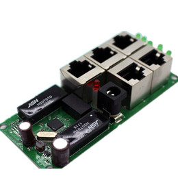 Canada OEM haute qualité mini pas cher prix 5 ports module de commutation société manufaturer carte de circuit imprimé 5 ports ethernet commutateurs de réseau module Offre