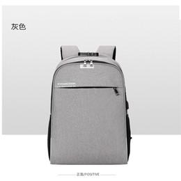 mochila recargable Rebajas 2018 nuevas señoras bolsa de ocio mochila de gran capacidad de viaje mochila bolsa recargable antirrobo de la computadora