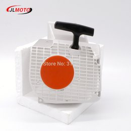 Wholesale chainsaw starter - 1pc MS250 Starter Fit for Stihl chainsaw 021 023 025 MS 210 MS 230 MS250 Starter Assembly Rewind Part # 1123 080 2115