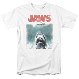 Jaws Vintage Poster T-shirt per Uomo Donna o Bambino New T-Shirt Uomo Fashion Maglietta Top Tee da magliette da uomo vintage fornitori