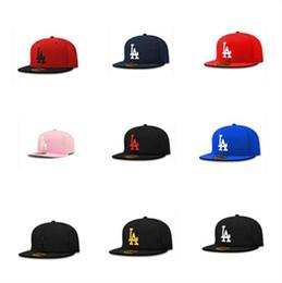 Wholesale Wholesale Panel Hats - 10 Colors la embroidery hats mens snapback adjustable 6 panel baseball caps spring summer women hip hop sun hat wholesales