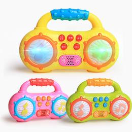 2019 mini hörte hilfe Kinder Früherziehung Utensilien Mini Radio Lustig Lumineszenz Sound Musik Spielzeug Übung Hören Infant Lehrmittel 8 3xd W günstig mini hörte hilfe