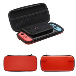 Wholesale Videos Host - hot selling For Nintendo Switch 4 Colors Video Game Hosting Bag Controller Carrying Case NS Vedeo Game Console Protective Pouch Bag