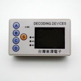 android obd2 adapter Rabatt Code Grabber 315MHZ 330MHZ 430MHZ 433MHZ Auto-Fernbedienung Klon-Fernbedienung Remote-Scanner Bauschlosser Werkzeug Entriegelungsgerät