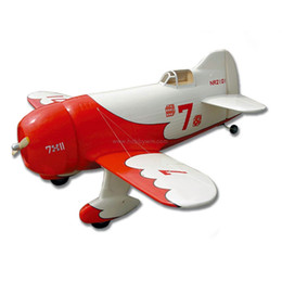 Wholesale Wood Airplane Models - FlyFly Gee Bee 1036mm KIT without electric part Fiberglass & Wood RC model airplane