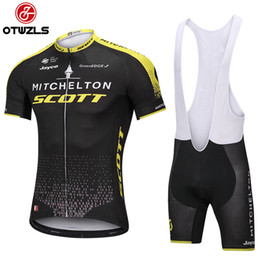 Wholesale Mtb Style - 2018 NEW Scott Cycling jerseys Men style Bicycle Clothing bike Bib Shorts Set Pro Team Sport Suit mtb Racing Riding clothes A1203