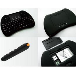 Jogos grátis android on-line-Teclado sem fio 2.4G Teclado Sem Fio Mini H9 Teclado e Mouse para livre caixa de tv android X96 mini caixa de jogo xbox 30 pcs