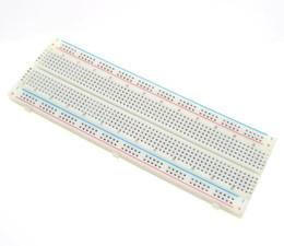 MB-102 MB102 Breadboard 830 Tie Point sin soldadura placa de circuito impreso Bread Board Para Arduino Nuevo
