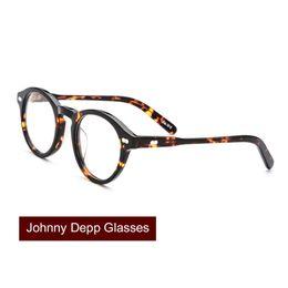 8776bf1da6f7 Save US  3 Get Coupon. top optical brands Promo Codes - Johnny Depp Glasses  Men Women Acetate Eyeglass Frame Brand Design