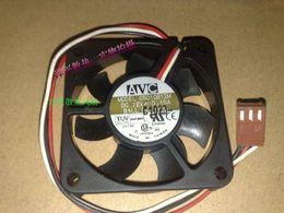 Canada Ventilateur d'onduleur de serveur DC 12V 0.15A de trois lignes 5cm 50mm AVC C5010B12M d'origine supplier avc 12v dc fan Offre