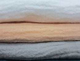 Argentina LC11899 Washed Crinkle 55% lino 45% Cotton Linen Fabric 140 cm blanco gris colores tejido de coser 10 metros small wholesale Suministro