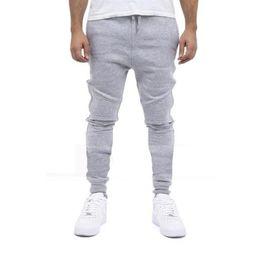 Wholesale hip hop skinny harem style - Men's Casual Sweatpants Cotton Harem Pants Sports Joggers Slim Fit Skinny Men's Hip Hop Swag Clothes High Street Style YB