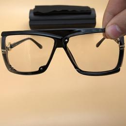 46ceaafa35 gafas de sol grandes Black Frame Clear Lenses eyewears Vintage Legends  gafas Mens Womens Driving Glasses Plastic Frame Gafas de sol 4065
