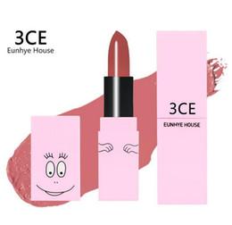 Cosmetici incredibili online-NUOVO 3CE Rossetto opaco Eunhye House Vendita calda Lucidalabbra Lipgloss impermeabile Trucco cosmetico Stick labbra Incredibile trucco liquido