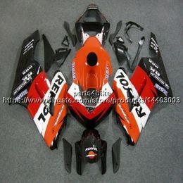 2019 honda repsol cover 23colors+5Gifts инъекции плесень repsol оранжевый мотоцикл обложка для Honda CBR1000RR 2004 2005 CBR 1000 RR ABS обтекатель дешево honda repsol cover