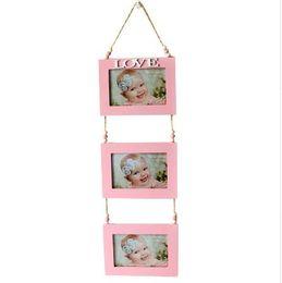 Foto do bebê do amor on-line-DIY Home Wall Display Crianças Foto Imagem Bebê Recém-nascido Comemorativa Photo Frame Kid Moldura de Imagem Amor As Crianças Melhores Presentes