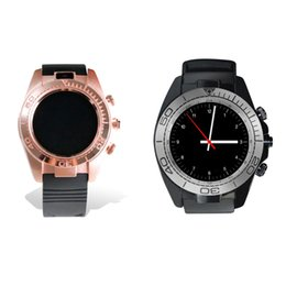 Wholesale Usb Remote Camera - SW007 luxury Smart Watch Mens Womens Bluetooth Watch With SIM Card Slot USB Type C Camera Wristband For ios Android