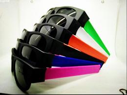 Un nuevo tipo de gafas de sol gafas de sol de deporte al aire libre en bicicleta tendencia de la moda retro tiene vasos abanico plegable. desde fabricantes
