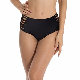 Brasilianischer ausschnitt badeanzug online-Reizvoller fester Bikini brasilianischer herausgeschnittener Badebekleidungsfrauenunterseitenschriftsatz-Badeanzugschlüpferunterwäschebadeanzug-Bikini kurzes tankini