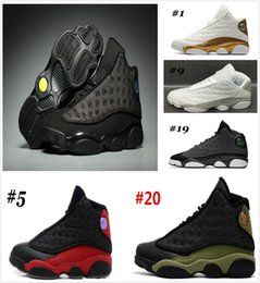 Wholesale Top China Shoes - 2018 Cheap New 13S China mens basketball shoes top quality outdoor sports shoes for men many colors US 8-13 Free Drop Shipping