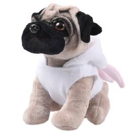 Wholesale Doggie Style - Wholesale-RYRY 22cm kawaii sharpei cute puppy dolls creative style stuffed plush shapi doggie animals soft toy for baby 2018 new year gift