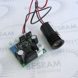 Wholesale Laser Blue Ttl - 100mW 405nm Blue Violet Purple Laser Diode Module 12VDC TTL Stage Lighting