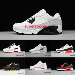 Wholesale Cushion Casual Shoes For Men - New Arrival Cushion 90 Sports Running Shoes for Women Men Oregon Casual Sneakers Size 36-45 Free Shipping