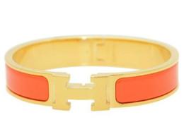 H Pulseiras de aço de titânio parafuso pulseira com chave de fenda para amante casal h braceletesbangles com saco original de