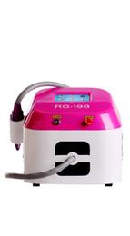 Argentina Mini profesional Q-switch Nd yag Laser Tatoo Remoción para diferentes colores 1064nm 532nm rotar manejar máquina de belleza Suministro