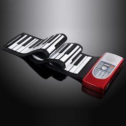 2019 klavier 61 schlüssel DoReMi Professionelle Folding Piano Roll Tragbare Elektronische Pianos Silikon Tastatur Orgel 61 Tasten Teclados Musicais S2018-61 günstig klavier 61 schlüssel