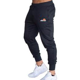 2019 calças homem casual Nova Marca de Impressão Ginásio Homens Corredores Homens Sweatpants Corredores Homme Calças Calças Culturais Bodybuilding Roupas desconto calças homem casual