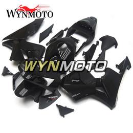 Набор для деконга honda онлайн-Глянцевый черный красный наклейки мотоцикл обтекатели ABS инъекции капот для Honda CBR600RR F5 год 2003-2004 03-04 полный обтекатель обвес