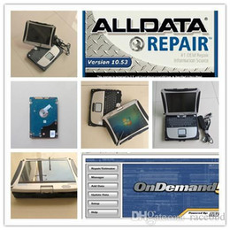 Wholesale Mitchell Repair - auto repair data alldata and mitchell ondemand installed laptop all data 10.53 with 1tb hdd cf19 toughbook windows7 ready to use