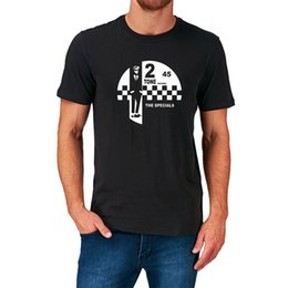 Etiquetas del cuello de la camiseta online-2 TONE RECORDS T SHIRT SPECIALS LABEL RUDE BOY MADURAS SKA MUSICMens 2018 fashion Brand T-Shirt O-Neck 100% algodón T-Shirt