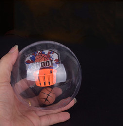 Wholesale Lead Shot Wholesale - Mini Shoot Basketball Finger Toy Children Gift Game LED Light Glowing Toy Anti Stress Relief 6 37wt C