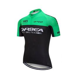 manga corta jersey orbea Rebajas 2017 ORBEA Pro team men's Cycling Jersey Mountain Bike Ropa Camisa de manga corta de secado rápido Bicicleta Ropa deportiva Ropa de ciclismo