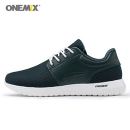 Wholesale Black Light Golf - ONEMIX 2018 Man Running Shoes For Men Free Run Super Light Casual Jogging Sports Shoe Knitted Footwears Warm Outdoor Trail Walking Sneakers