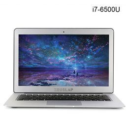 Wholesale 8gb notebook ram - 13.3 inch intel core i7-6500U 8gb ram 256gb ssd 4-6 hours long endurance battery windows 10 fast boot laptop notebook computer